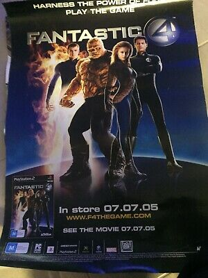 The Fantastic 4 Four Original Game Poster