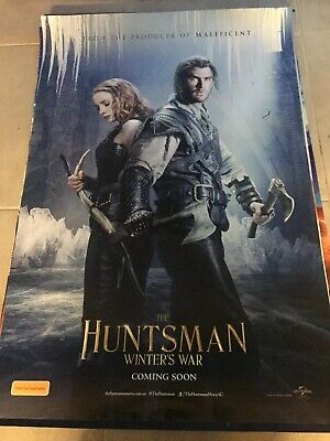 The Huntsman Winters War Original Cinema movie poster one sheet size