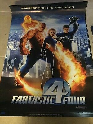 The Fantastic 4 Four Original Cinema movie poster one sheet size