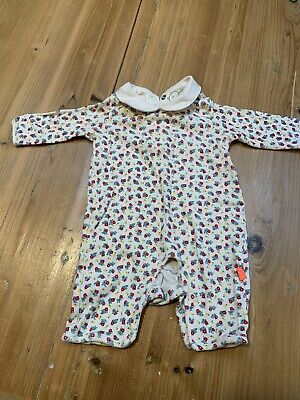 Little Bird By Jools Oliver Mothercare Ditsy Print Babygro Jumpsuit (New Baby)