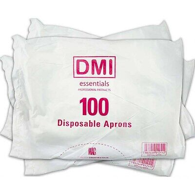 DMI Disposable Apron White x 100