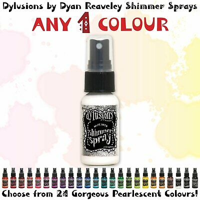 Dylusions Shimmer Spray - Any 1 Colour - Choose Your Own