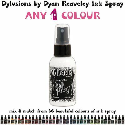 Dylusions Ink Spray - Any 1 Colour - Choose Your Own