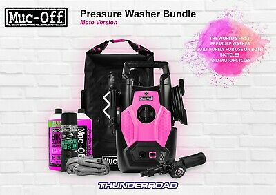 Muc-Off Pressure Washer Cleaner Bundle Kit Built Purely For Bikes Brand New!