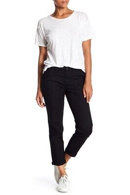 Sanctuary Womens Sargent Stretch Twill Pants in Black Choose Size 27, 29 $99