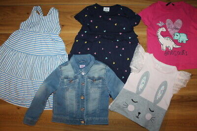 George F&F Mothercare girls summer bundle 3-4 years *I'll combine postage*(61)