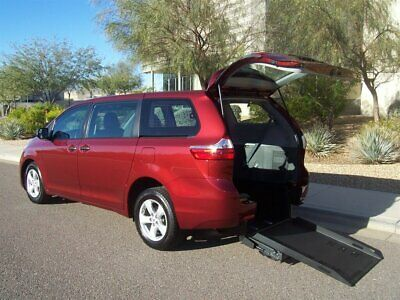 2016 Toyota Sienna Wheelchair Handicap Mobility Van 2016 Toyota Sienna Wheelchair Handicap Mobility Van Best Buy