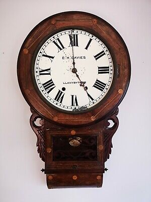 Antique American Wall Clock (project)