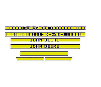 JD3040 New Hood Decal Set fits John Deere Tractor 3040