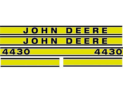 JD419 Hood Decal Set Kit fits John Deere Tractor 4430