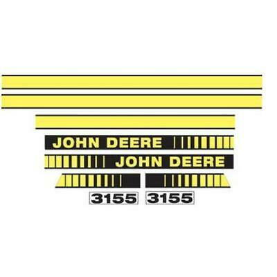 fits John Deere 3155 TRACTOR DECALS. HOOD & NUMBERS ONLY. SEE DETAILS & PICTURES