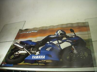 Yamaha Yzfr6 R6 600 Sportbike Motorcycle Poster Used Po-245