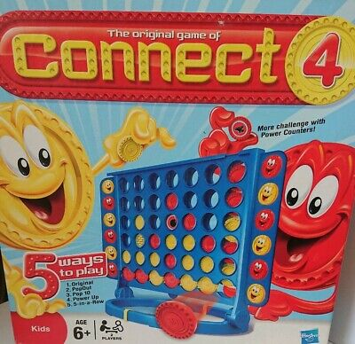 Hasbro Kids Connect 4 Classic Grid Game 2009 - 5 Ways To Play