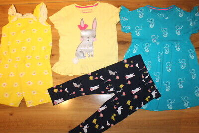 M&S Bluezoo Mothercare girls summer bundle 3-4 years *I'll combine postage*(117)