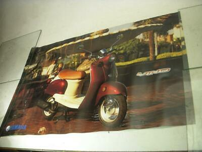 Yamaha Vino Scooter Motorcycle Poster Used Po-242