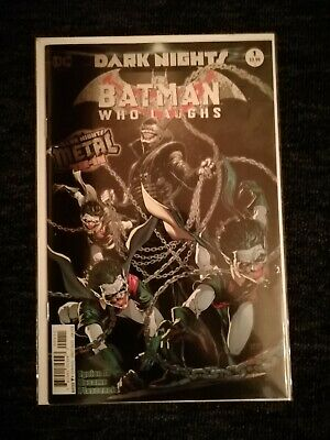 The Batman Who Laughs #1 - First Print - Foil One Shot - Dc Comics - Nm - Metal