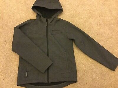 Mountain Warehouse Kids Shower Proof Windcheater Grey Jacket Age 11-12