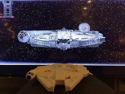 Disney Parks Star Wars Millenium Falcon Light Up Popcorn Bucket 2020
