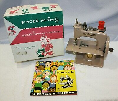 Vintage 1955 Singer Sewhandy Model 20 Child's Sewing Machine