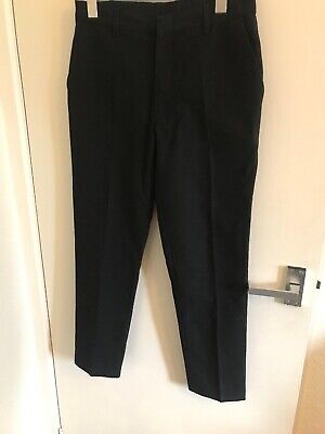 Boys School Trousers Age 12-13 By Marks And Spencer