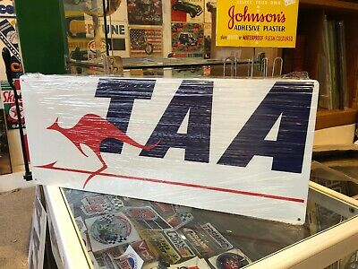 TAA Retro Metal Sign