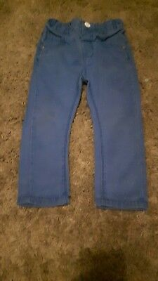 Next Boys Blue jeans.chinos ...12-18 months