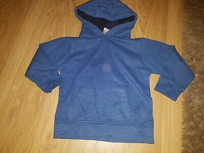 Boys Urban Rascals Plain blue/Navy hoody....age 3 years