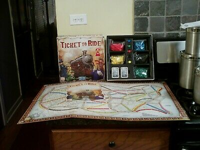 2016 Days Of Wonder Ticket To Ride Game--Complete