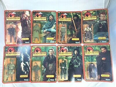 Complete Set 8 Kenner Robin Hood Prince Of Thieves Action Figures