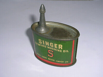 Vintage Singer Sewing Machine Oil Can Suit Models 221/222K/201K/99K/185K/15K