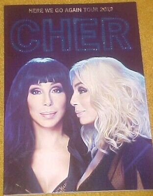 """Cher 2019 """"Here We Go Again Tour"""" Program Brand New! Plus FREE Dancing Queen CD"""