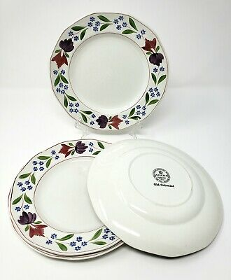 8 pcs Vintage Adams Old Colonial England Dinner Plate Salad Plate