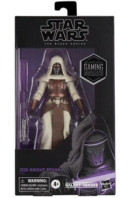 "Star Wars The Black Series 6"" Jedi Knight Revan GameStop Exclusive *SHIPS NOW*"