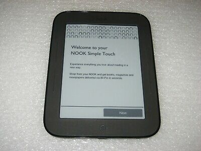 "Barnes & Noble NOOK Simple Touch E-Reader Wi-Fi, 2GB, 6"" - BNRV300"