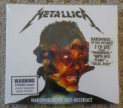 Metallica - Hardwired...To Self Destruct - 2CD ALBUM [NEW & SEALED]