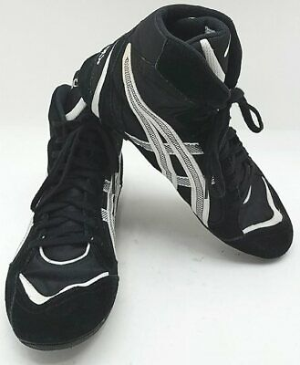 ASICS Agressor 1 Black Wrestling Shoe Sz 11