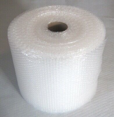"""Bubble Wrap Small Bubble 3/16"""" by 100 ft. Roll Perforated 12"""""""