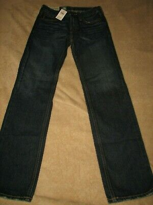 Abercrombie & Fitch Kids Nwt Boys Size 14 Slim The A&F Slim Straight Jeans