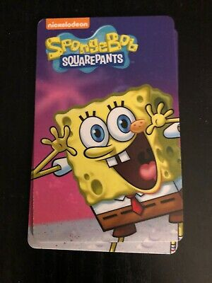 Dave and Busters Spongebob Coin Pusher Cards: Spongebob