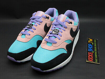 Nike Air Max 1 ND Have A Nike Day Athletic Shoes BQ8929-500 Purple Black Sz7-13