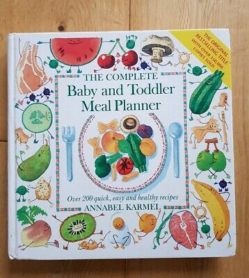 The New Complete Baby and Toddler Meal Planner Annabel Karmel