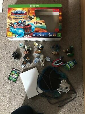 Skylanders Superchargers Xbox Game + 9 Figures/Vehicles Inc KAOS TROPHY + Poster
