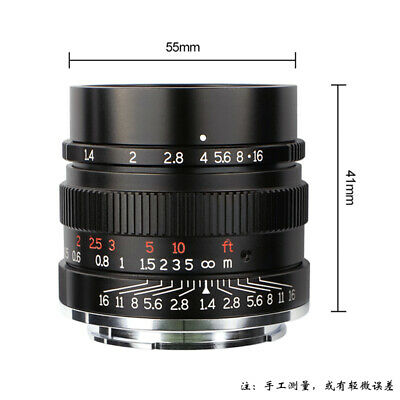 REAL EU-SHIP! ✮ 7Artisans 35mm f/1.4 for NIKON Z-mount, Full-Frame, manual lens