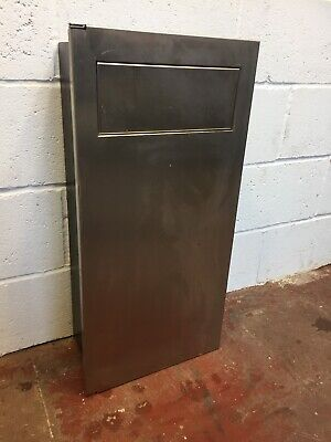 Commercial Wall Bin Take Away Restaurant Stainless Steel FREE MANCHESTER DELIVER
