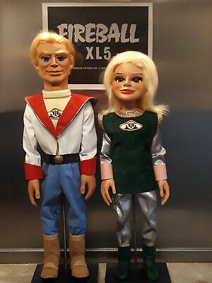 Gerry Anderson Thunderbirds STEVE ZODIAC & VENUS FIREBALL XL5 Replica Puppet KIT