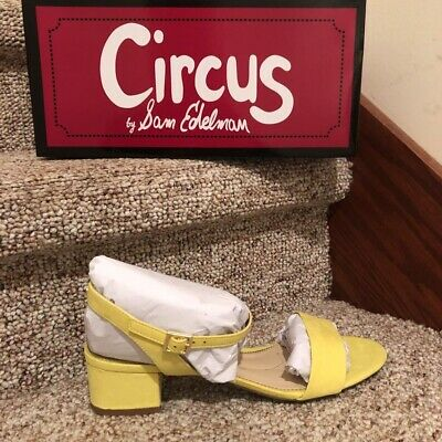 231566 CIRCUS BY SAM EDELMAN Womens /'Ozzie/' Havana Red Sandals Sz 8 M