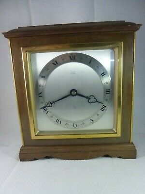 Vintage Elliott Bracket Clock retailed by 'Stewart, Glasgow' for repairs/spares