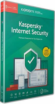 Kaspersky Internet Security 2020 | 5 Devices | 1 Year | Antivirus and Secure VPN