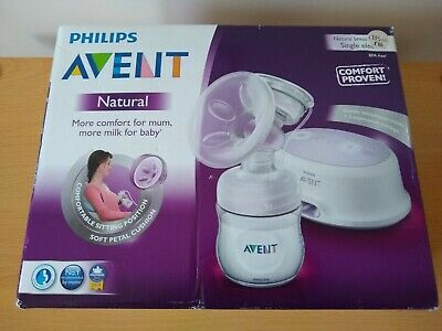 Phillips AVENT Natural Electric Breast Pump, Single