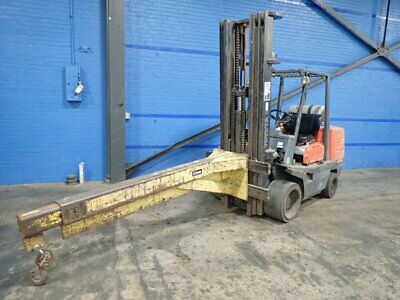 Toyota Fgc45 Propane Forklift  9390 Lbs 10191450001